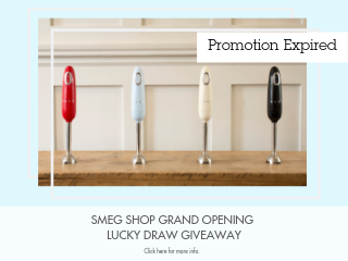SMEG Shop Grand Opening Lucky Draw Giveaway 4