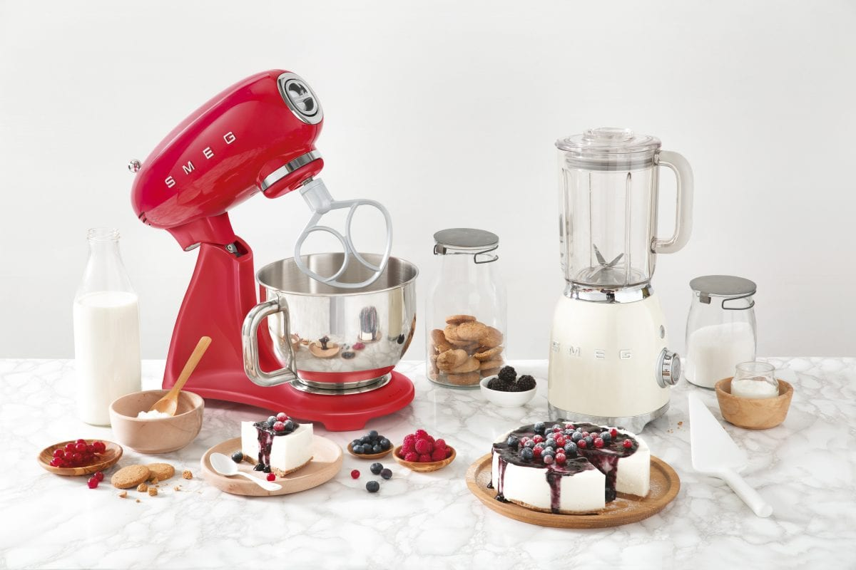 Press Release - Launch of NEW SMEG Stand Mixers 5