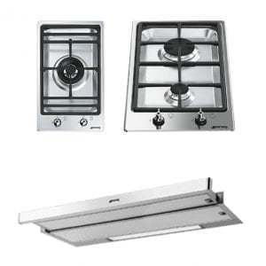 Domino Gas Hobs and Cooker Hood package 1