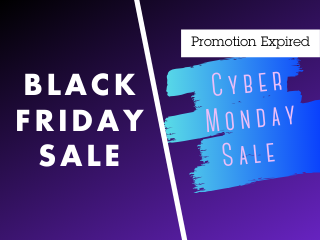 Black Friday | Cyber Monday Sale 10