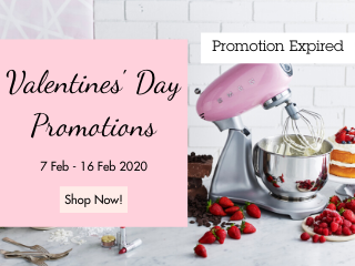 Smeg 2020 Valentine's Day Promotions 3